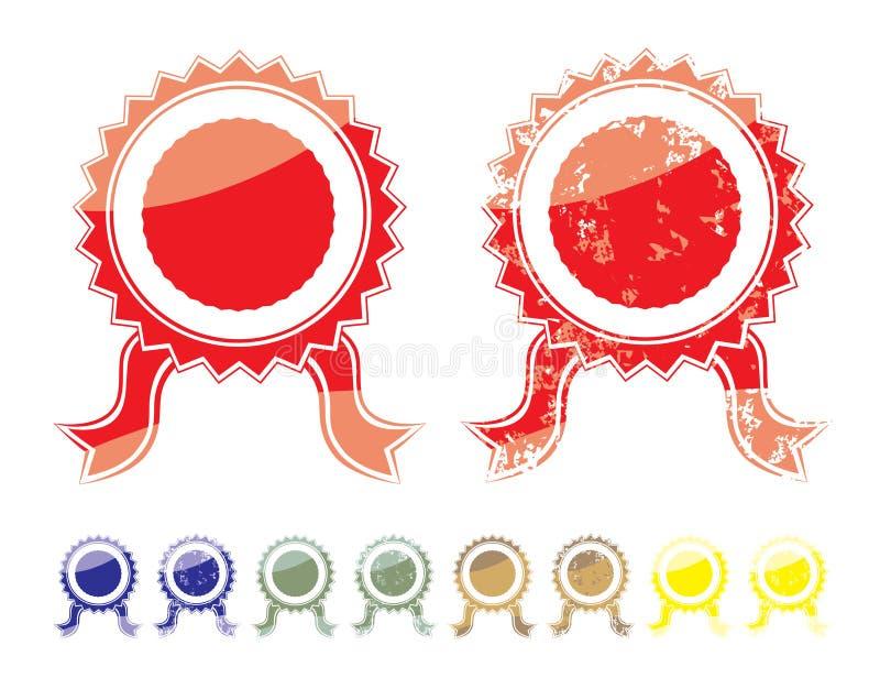 Joint vide de couleur illustration de vecteur