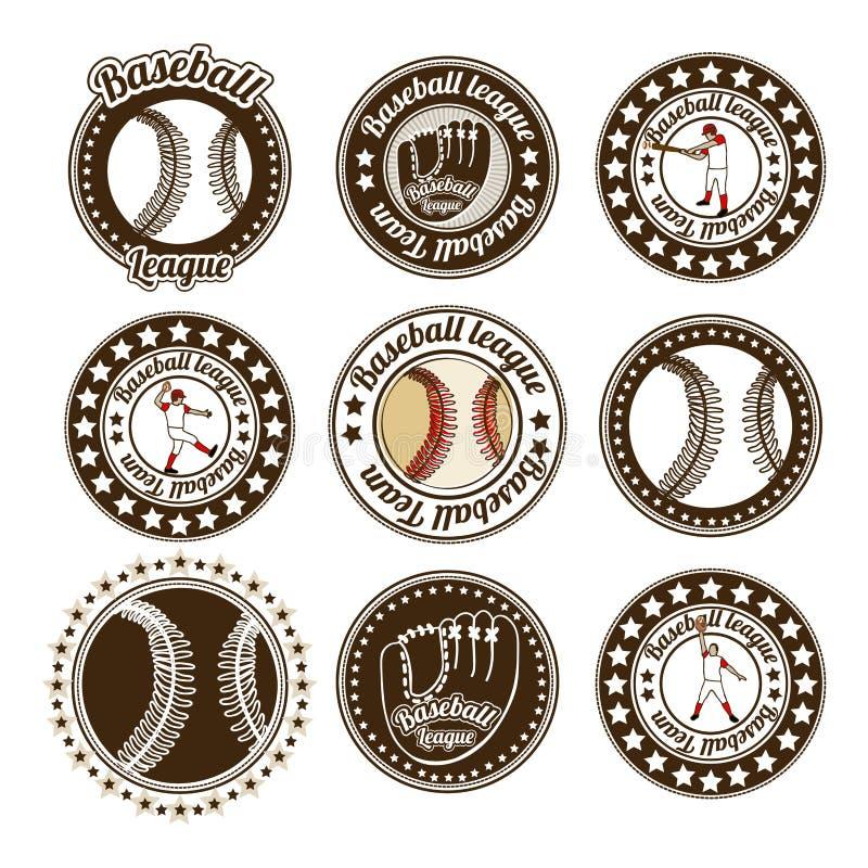 Joints de base-ball illustration libre de droits
