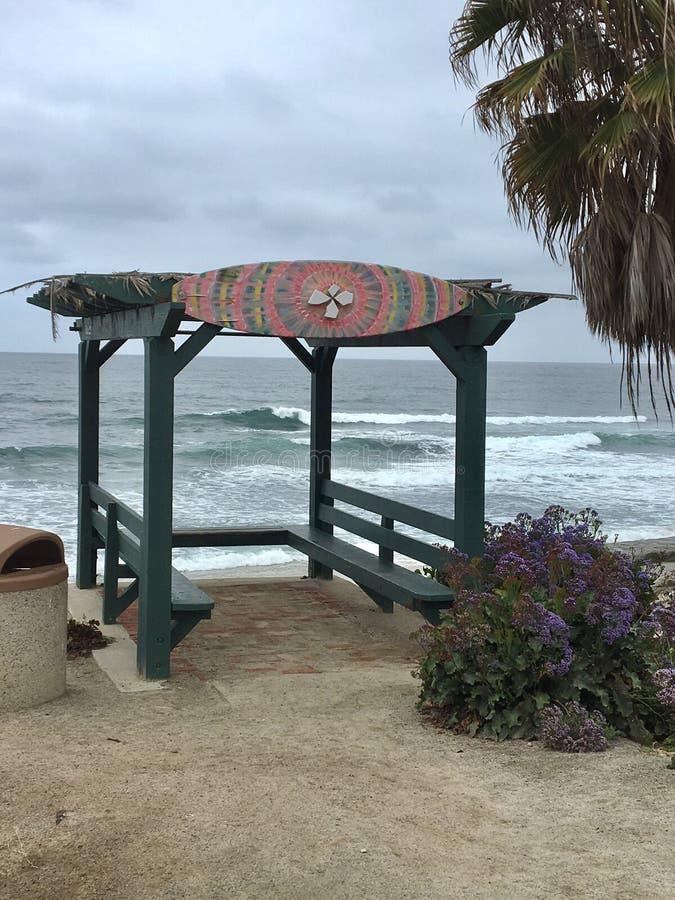 Joints de plage de joint de La Jolla image libre de droits