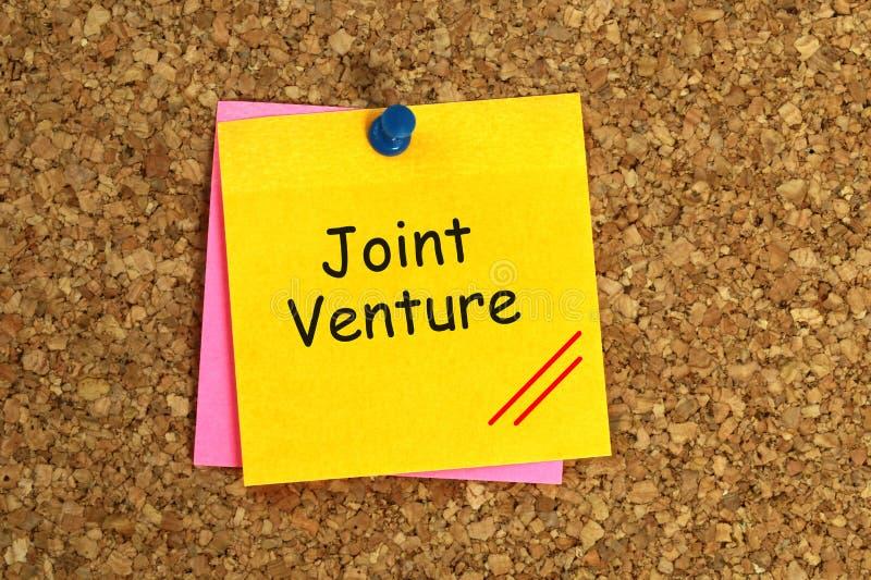 Jointventure lizenzfreie abbildung