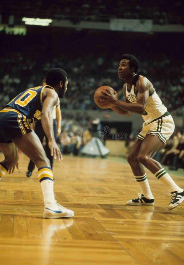Jojo White Boston Celtics imagen de archivo