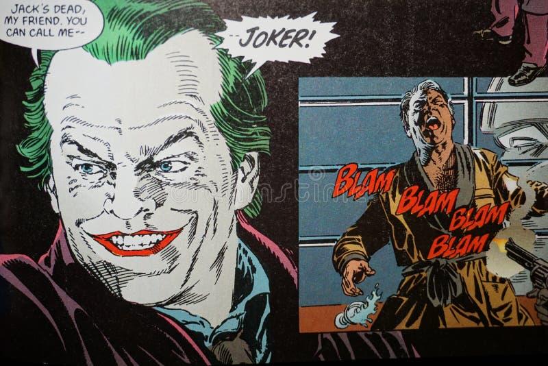 Joker fotografia stock