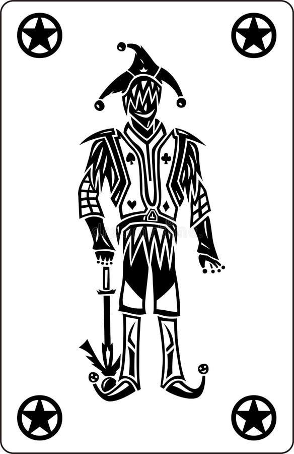 Download The Joker stock vector. Image of illustration, jester - 16400639