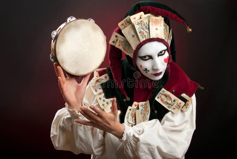 Download Joker stock image. Image of hands, clown, fingers, keep - 20529499