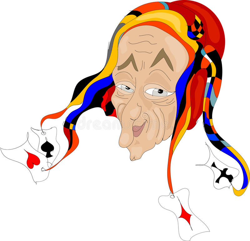 Download Joker stock illustration. Image of illustration, spade - 21034024