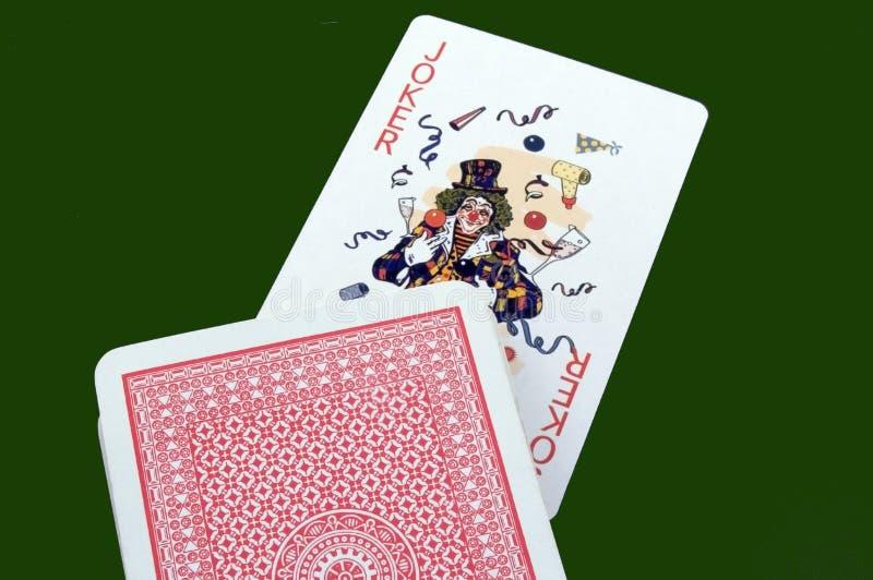 Joker royalty-vrije stock foto