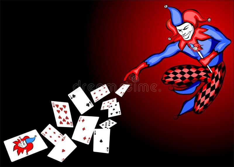 joker ilustracja wektor