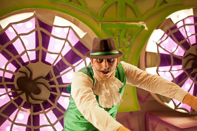 Joker de carnaval photographie stock libre de droits