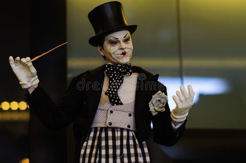 Joker Iconisch Beeldje royalty-vrije stock afbeeldingen