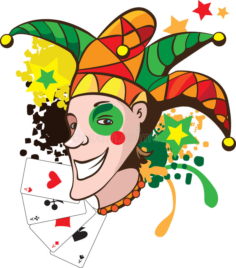 Download Joker  illustration stock vector. Illustration of background - 18779909