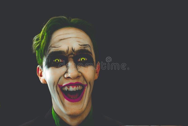 Joker laughs. stock photography