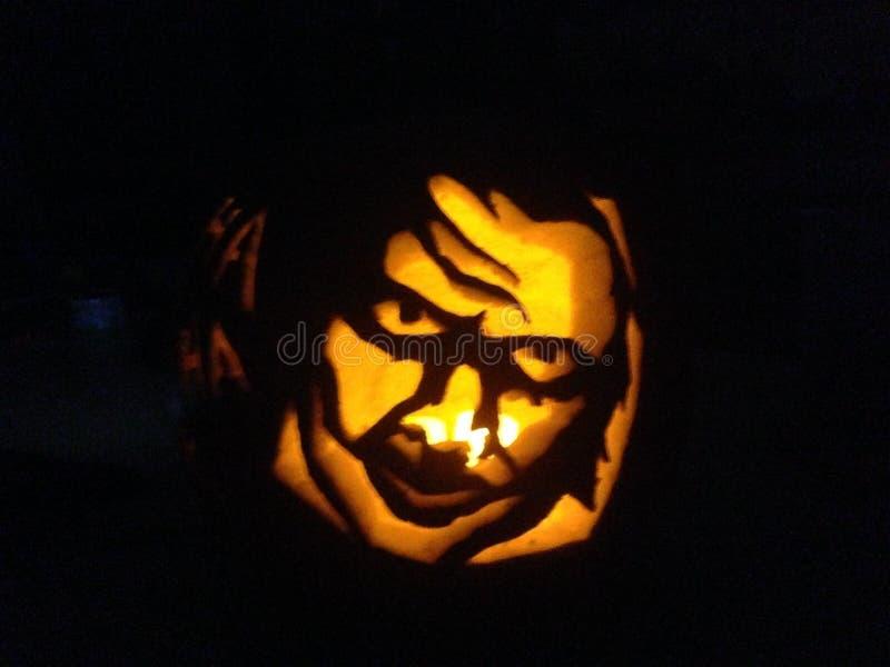 Joker-lykta royaltyfria foton