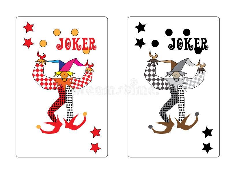 Joker Playing Card Stock Images