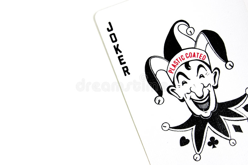 Download The Joker Playing Poker Cards Stock Photo - Image: 35234