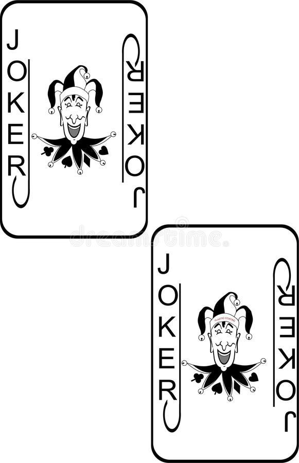 Jokers Are Wild Illustration Royalty Free Stock Image