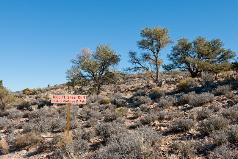 Jokey assina dentro o deserto do Arizona foto de stock