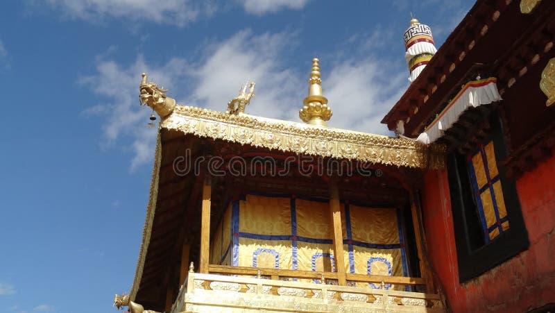 Jokhang tempel, Lhasa royaltyfri foto