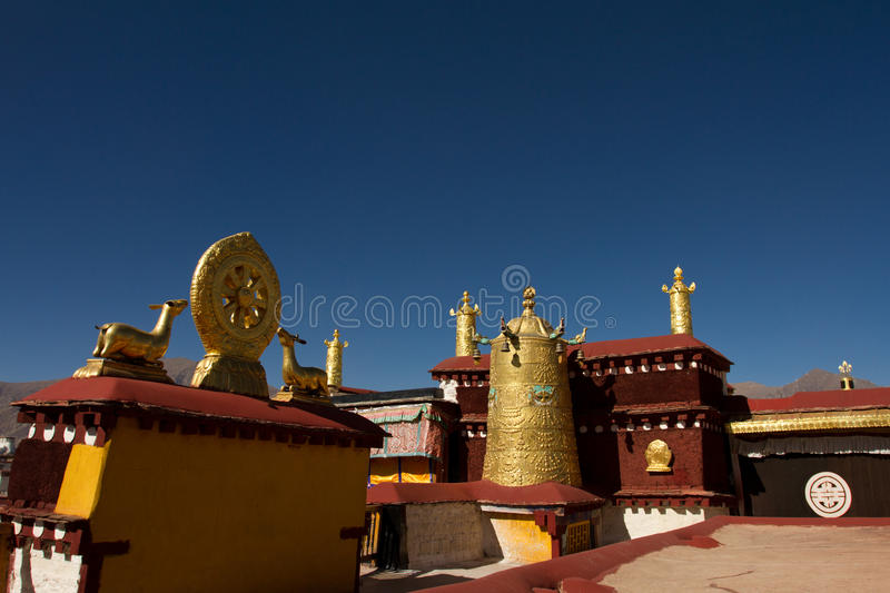 Jokhang Temple in Lhasa Tibet royalty free stock images