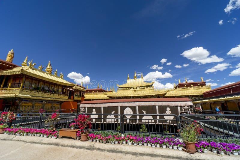 Jokhang Temple Lhasa Tibet China royalty free stock photos