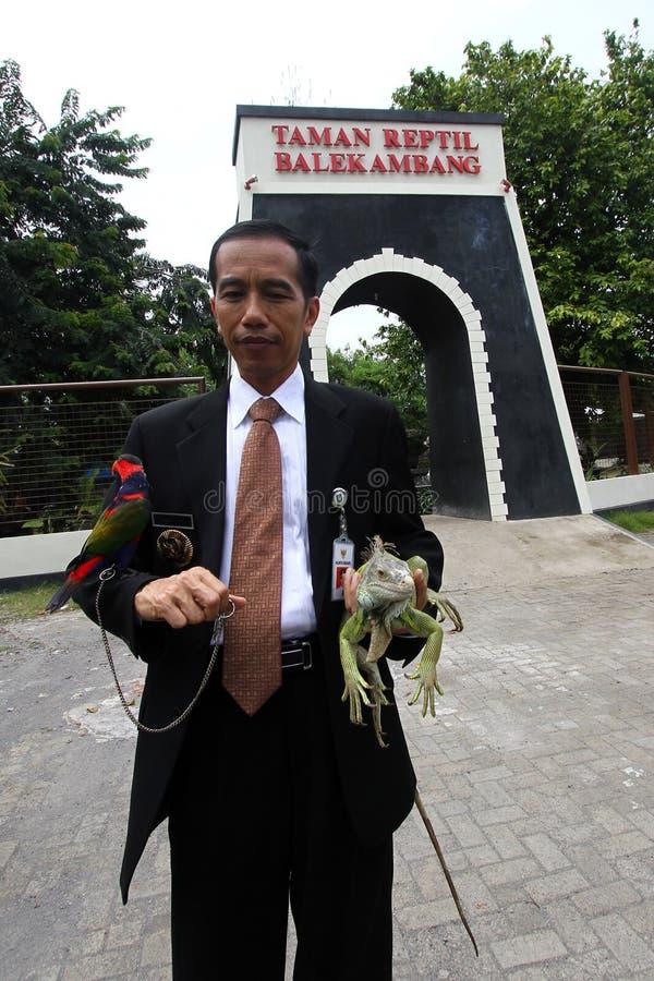 JOko Widodo image libre de droits