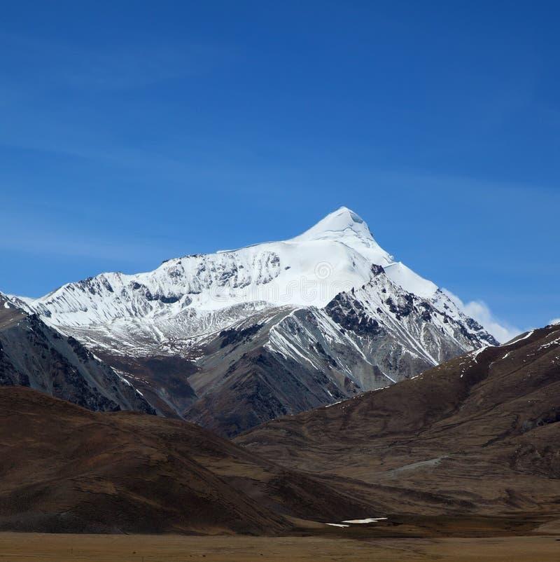 Jokul in Tibet royalty free stock photo
