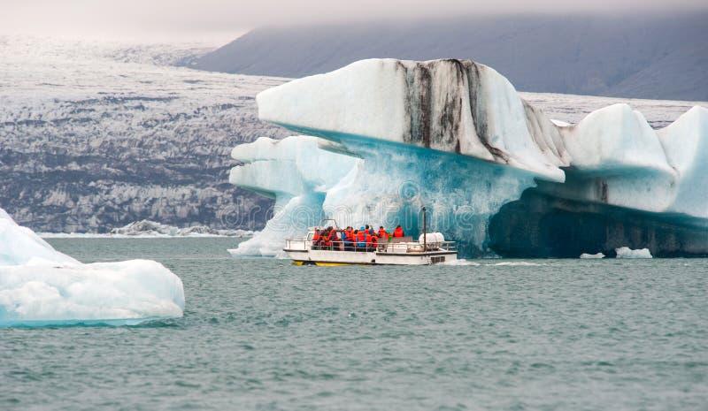 Jokulsarlon, glacier lagoon, Iceland royalty free stock photo