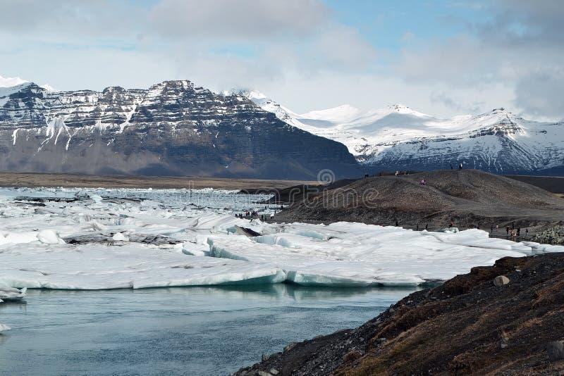 Jokulsarlon Islândia fotos de stock