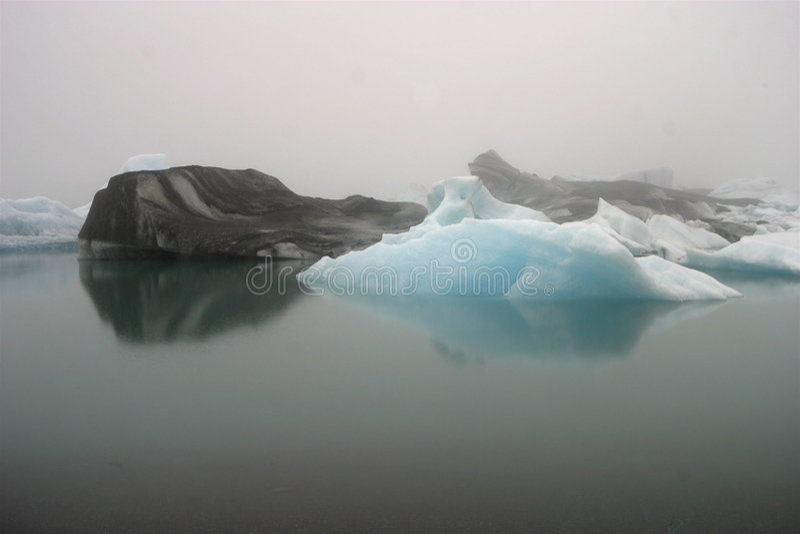 Jokulsarlon, Island lizenzfreies stockfoto