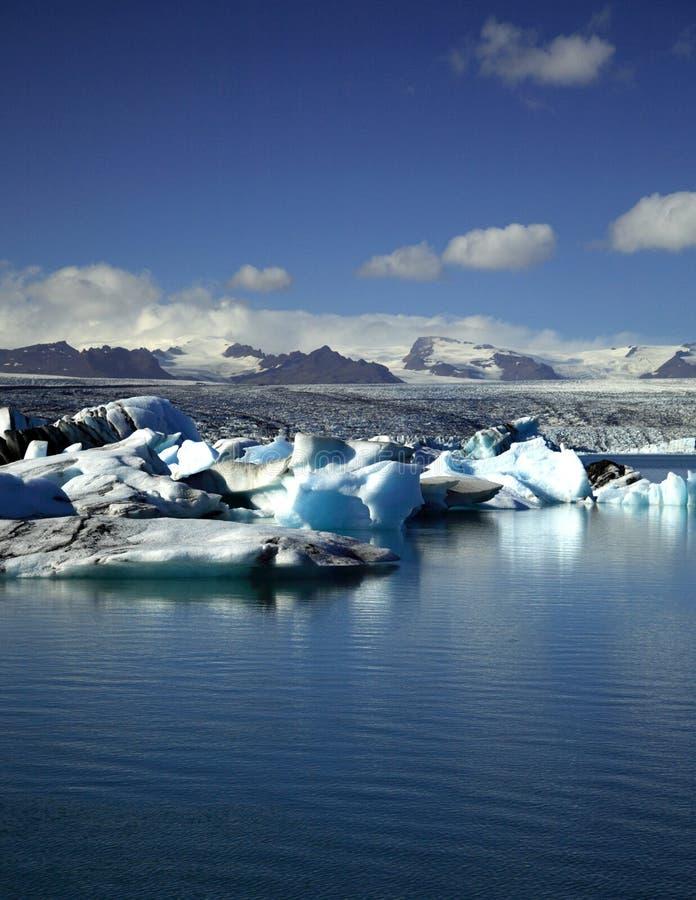 Jokulsarlon Lagune stockbild