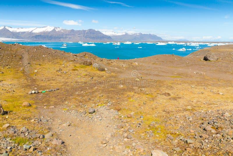 Jokulsarlon See Island lizenzfreie stockbilder