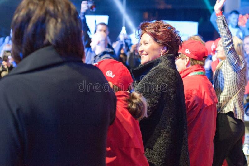 Jolanta Kwasniewska - Poland S First Lady Editorial Stock Image
