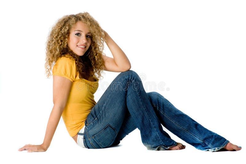 Joli adolescent image libre de droits