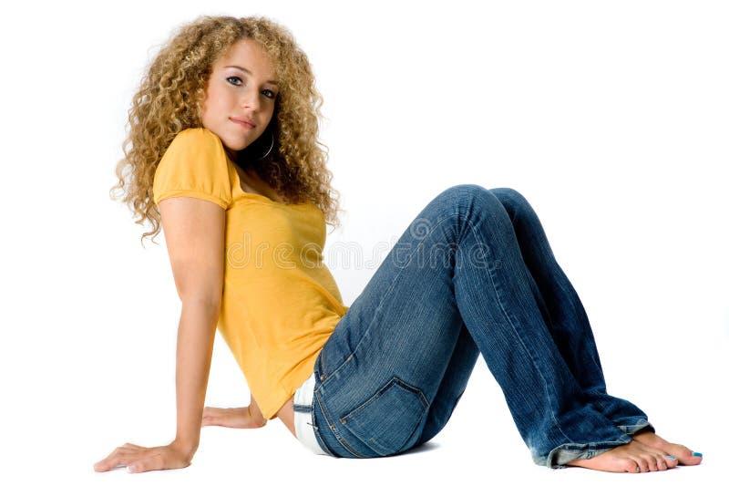 Joli adolescent photos stock