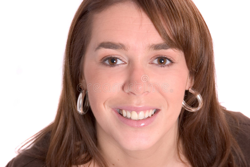 Joli brunette images stock