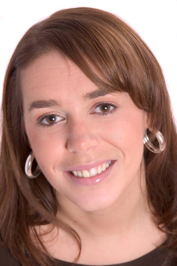 Joli brunette photo libre de droits