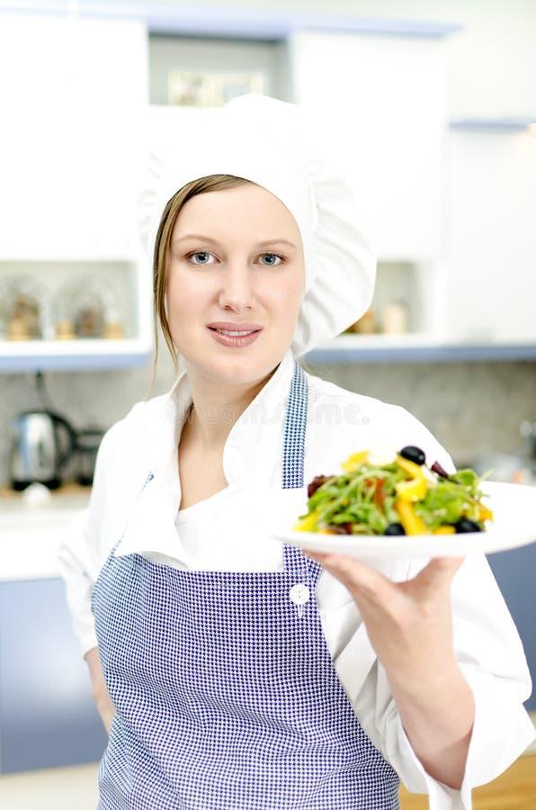 Joli chef de cuisinier photos stock