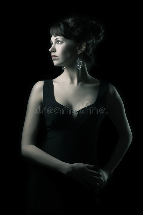 Download Joli femme photo stock. Image du vert, lifestyle, expressions - 2127324