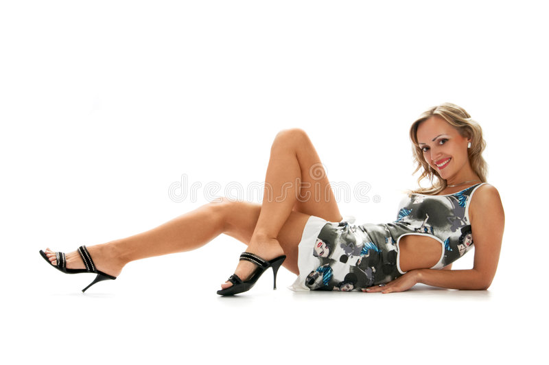 Joli femme photos libres de droits