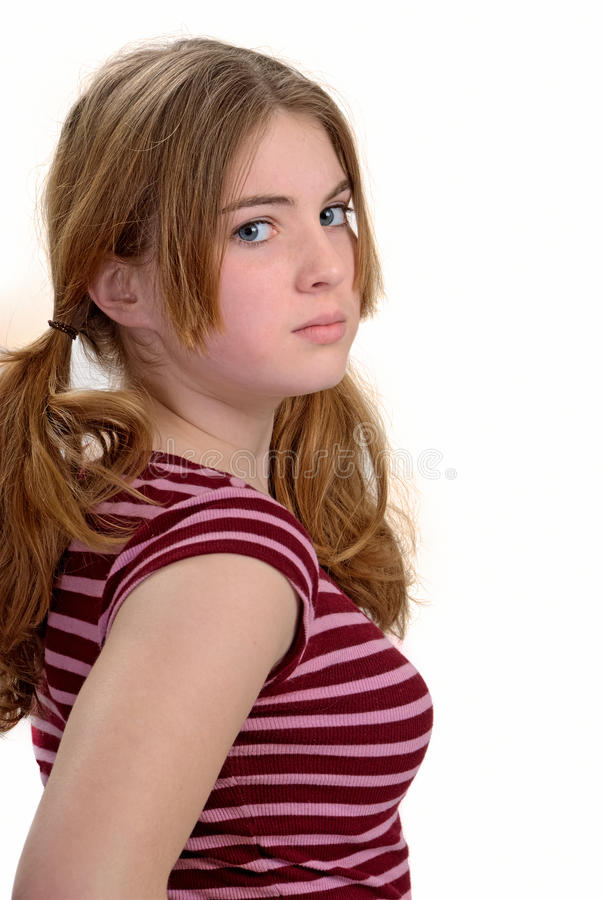 Jolie adolescente photos libres de droits