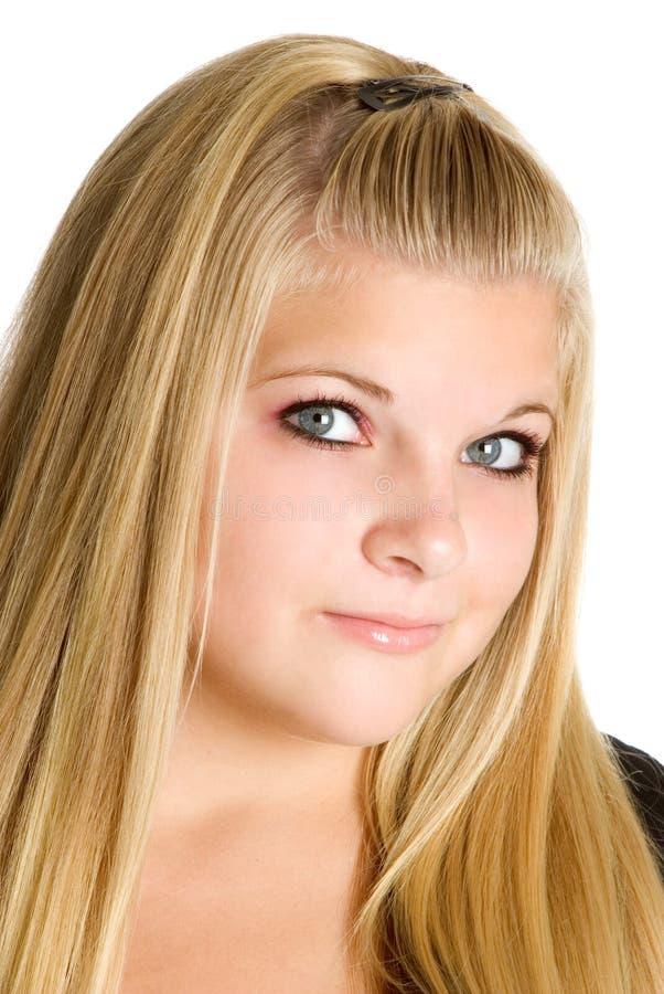 Jolie adolescente photographie stock