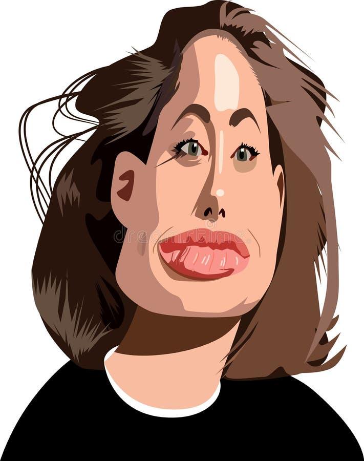 Free Jolie Caricature Royalty Free Stock Photos - 7036588