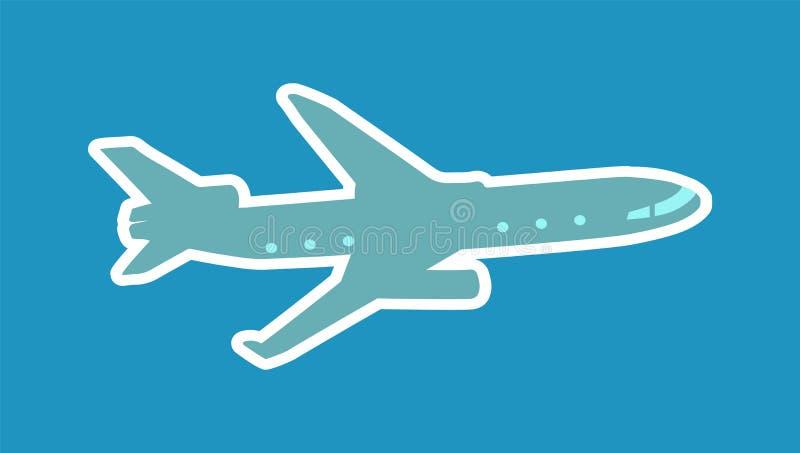 Jolie disposition d'illustration de vecteur d'avions illustration de vecteur