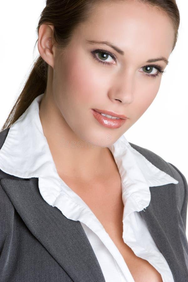 Jolie femme d'affaires image libre de droits