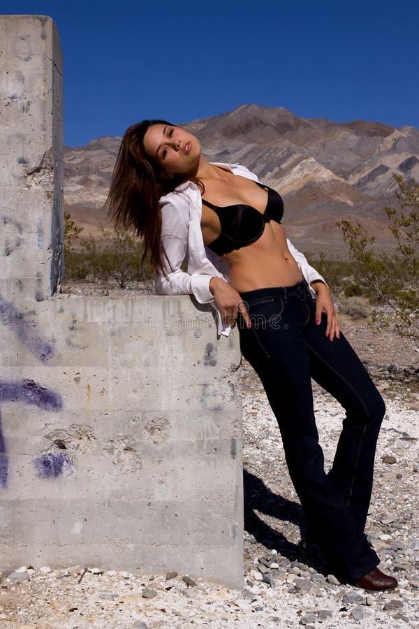 Jolie femme sexy photo stock