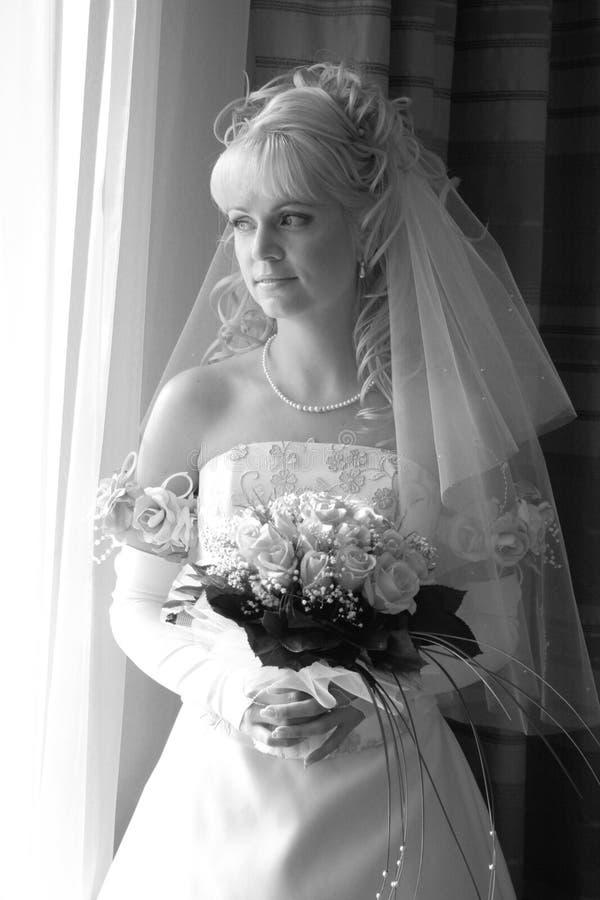 Jolie mariée photographie stock libre de droits