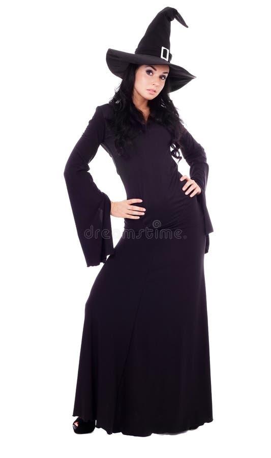 Jolie sorcière photos libres de droits