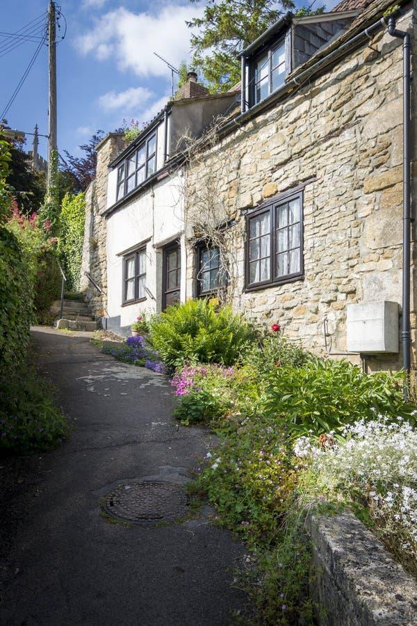 Jolis cottages de Cotswold photos stock