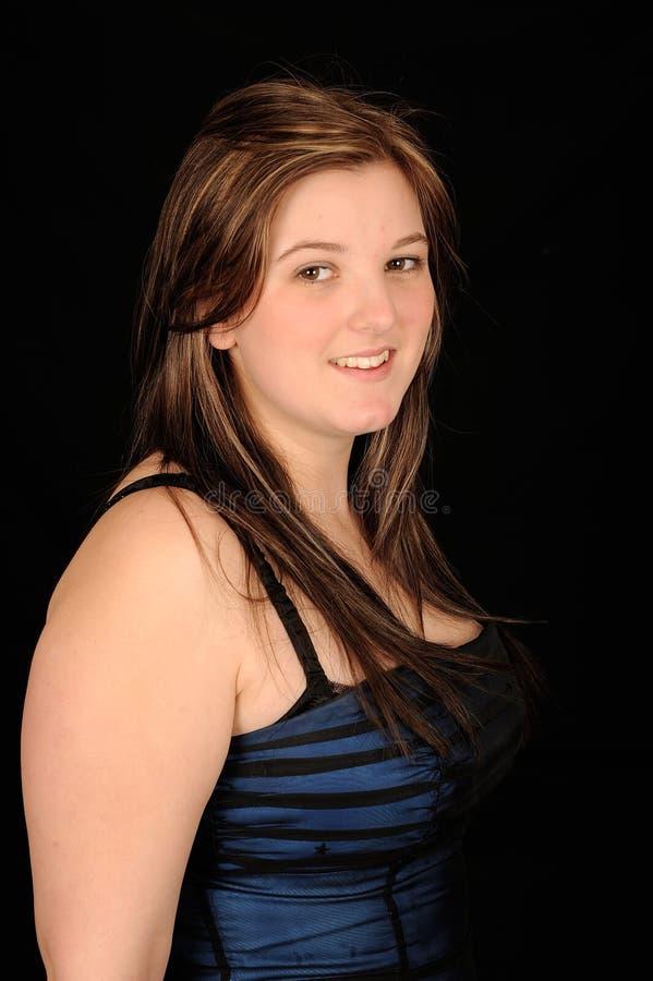 Download Jolis jeunes de femme photo stock. Image du réception - 8659760