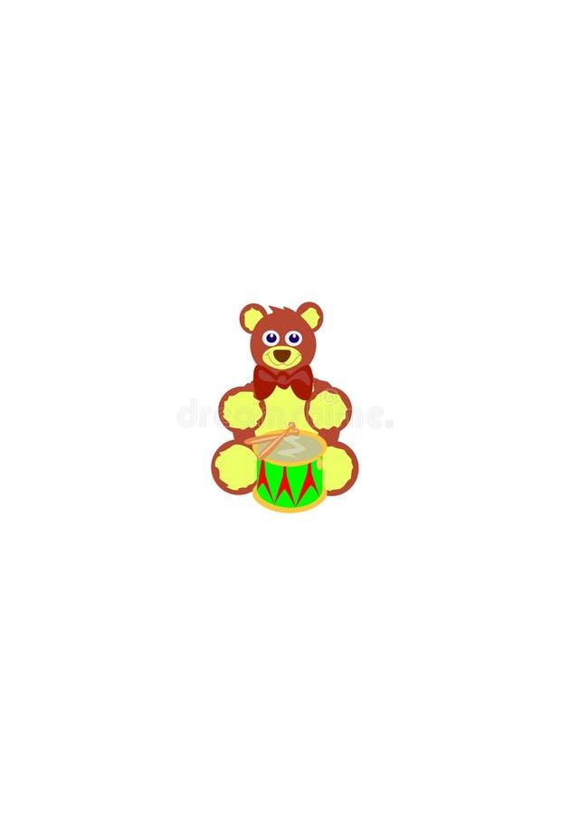 Jolly Bear ilustração stock