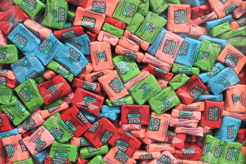 Jolly Rancher Candy Texture fotografie stock libere da diritti